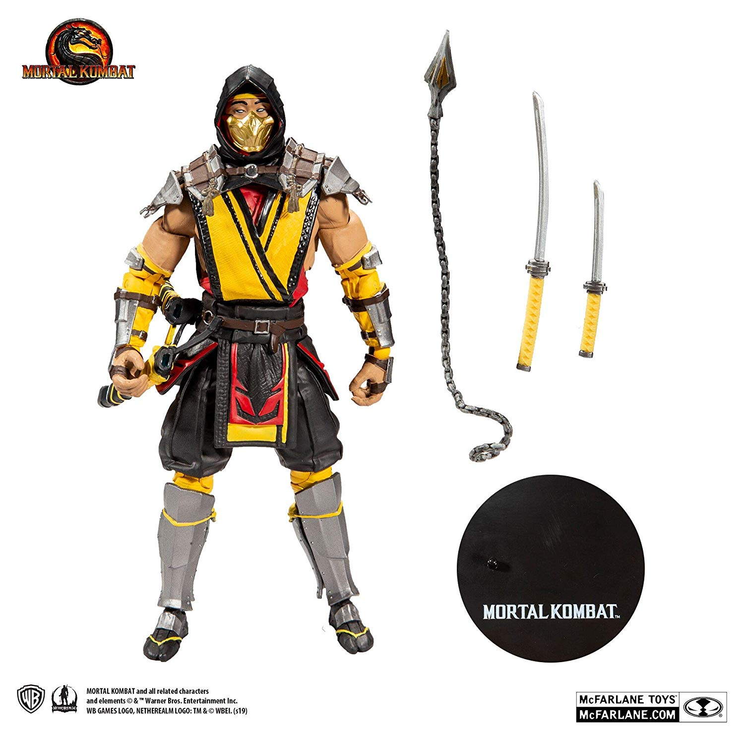 Official Mortal Kombat 11 Scorpion Toy Images Unveiled Scified Com