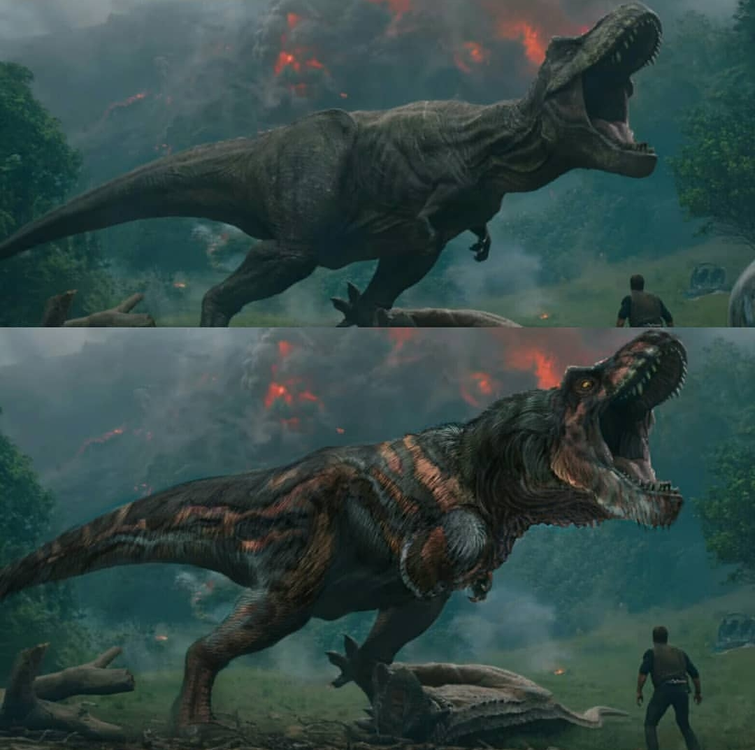 Jurassic World Fallen Kingdom Feathered T Rex