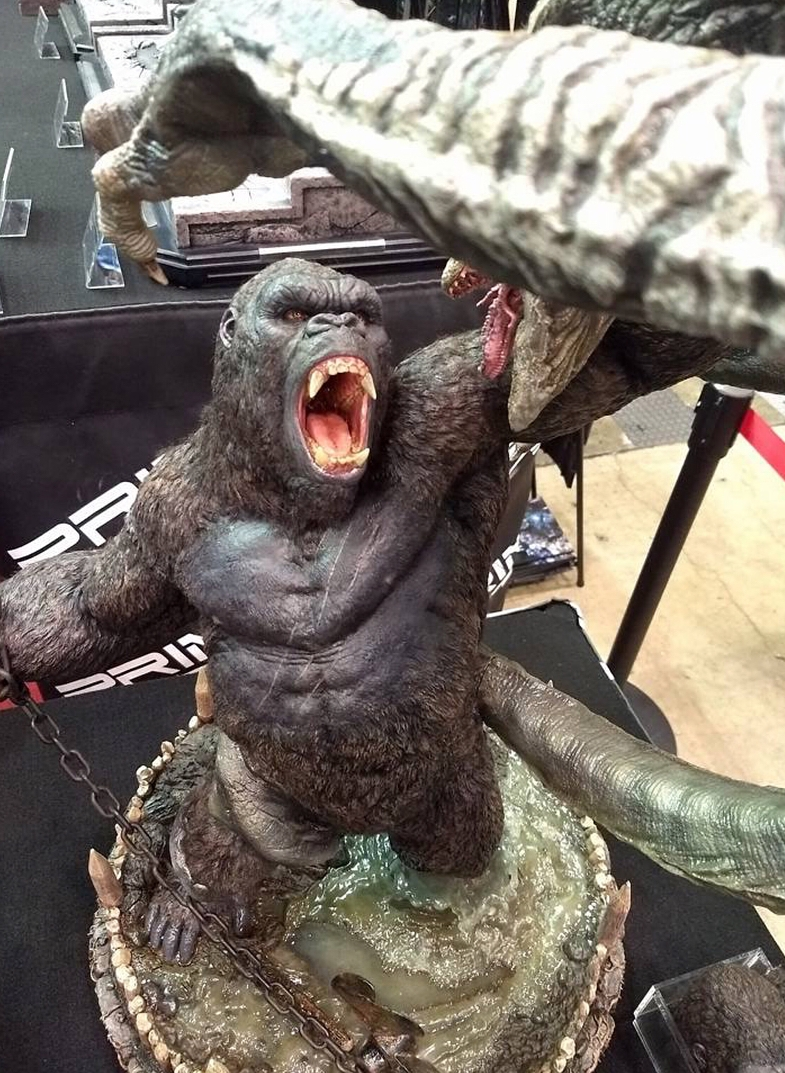 2018 Expedition Release Date >> Prime 1 Studio unveil epic Kong vs. Skullcrawler statue! - Kong: Skull Island Movie News
