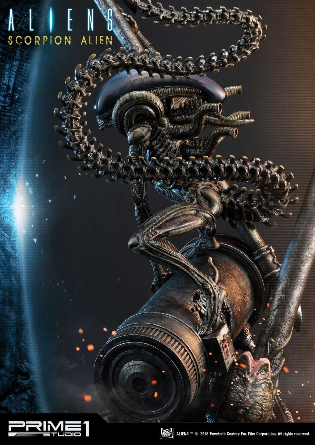 Scorpion Alien statue announced by Prime 1 Studio! - Alien
