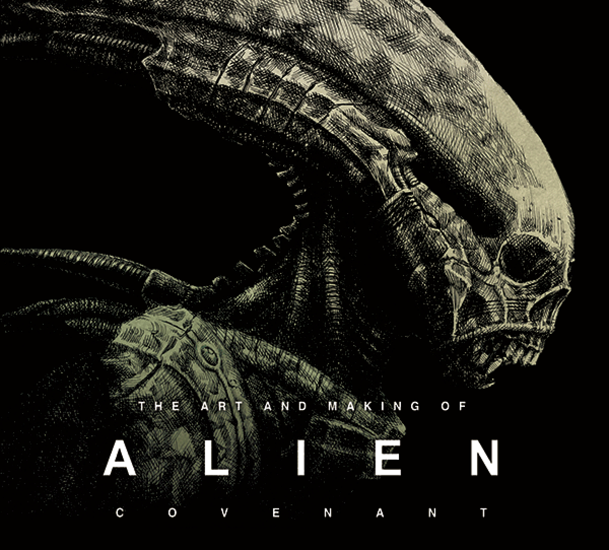 The Art and Making of Alien: Covenant Art Book