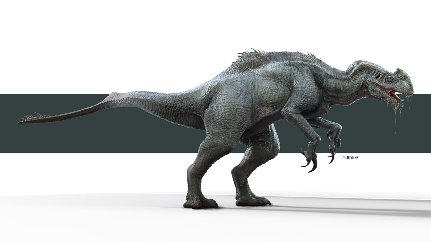 Early indominus rex concepts show a very different - Dinosaure jurassic world ...
