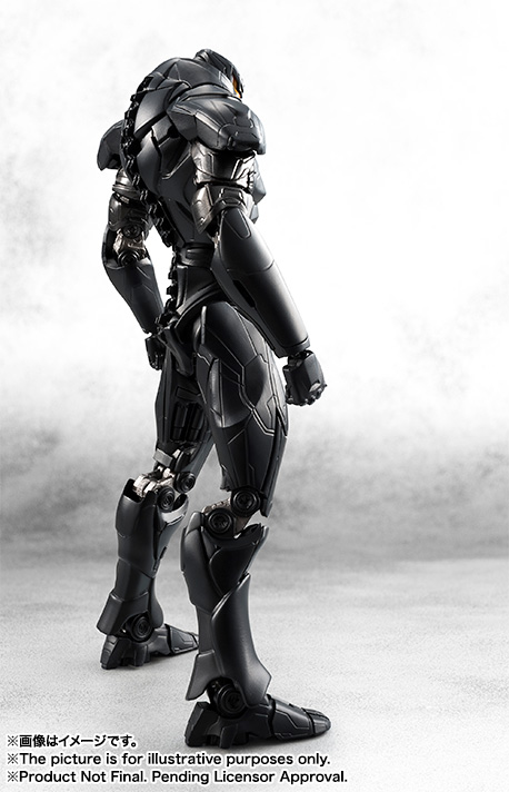 Exclusive Pacific Rim Uprising Rogue Jaeger Obsidian Fury