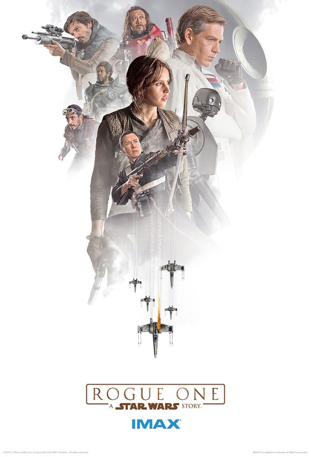 Rogue One Gets Three New IMAX Posters - Star Wars: The ...